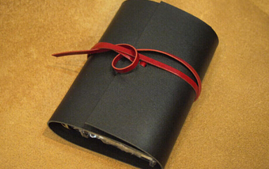 カクラのA5システム手帳 urushiブラック