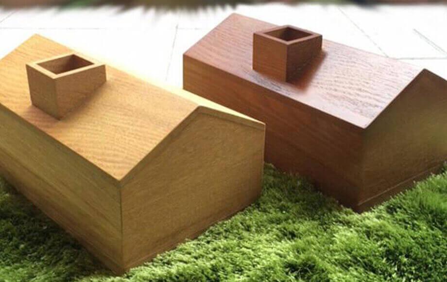 アーノットのアトリエ ティッシュケース HOUSE TISSUE BOX