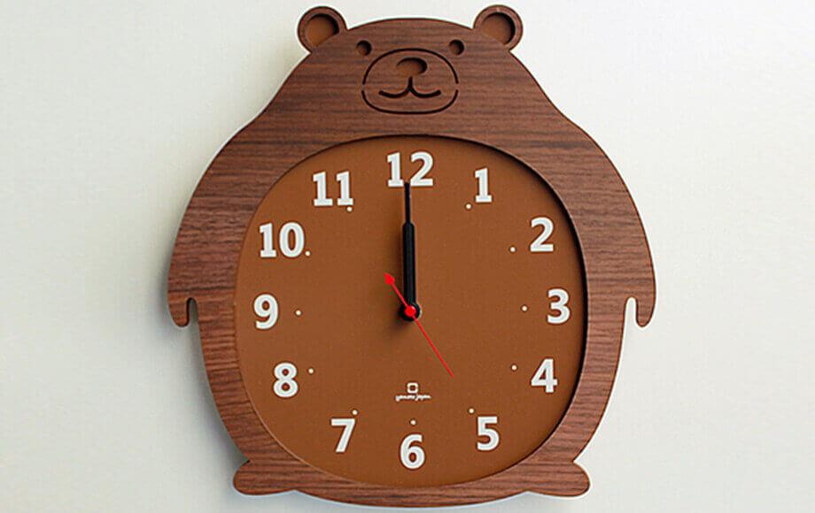 ヤマト工芸の掛け時計 Clock Zoo