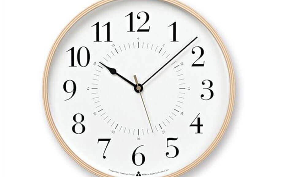 レムノスの掛け時計 TOKI