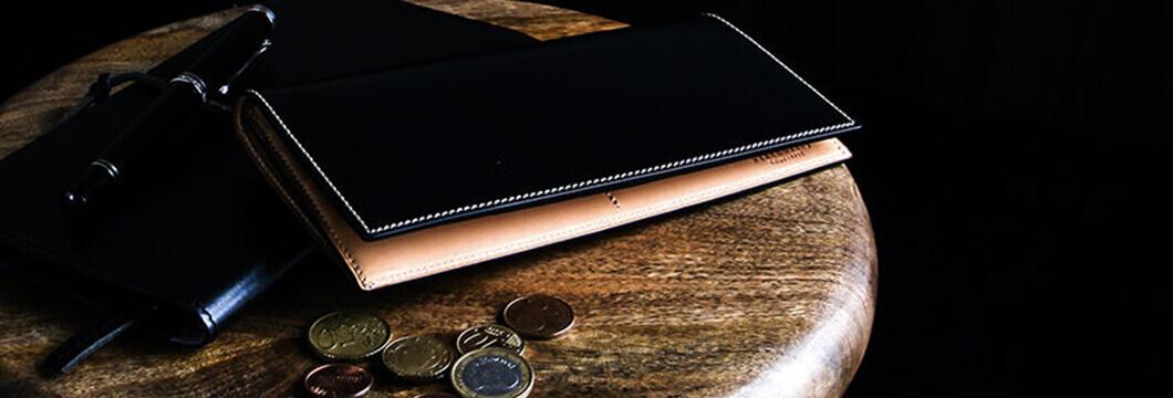 フラソリティ コードバン 長財布