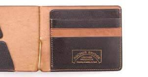 カードケース付きマネークリップ