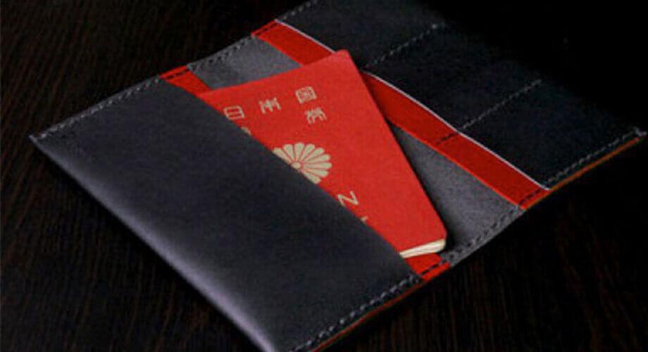 カクラ 通帳 パスポートケース