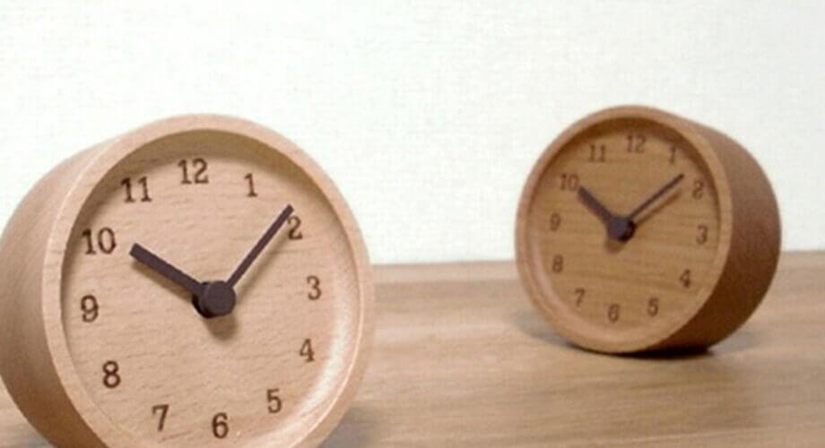 レムノス MUKU 置き時計