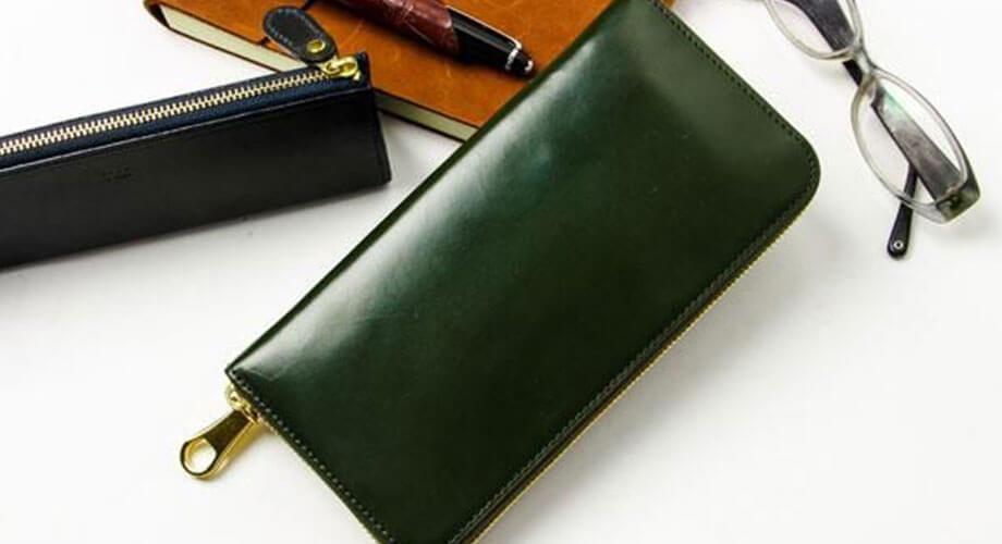 チマブエ ブライドル ラウンド財布