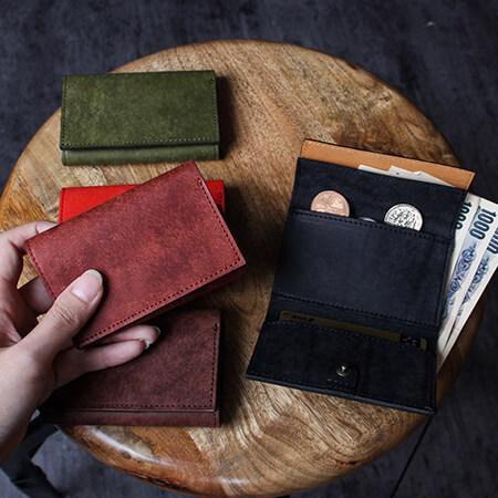 エムピウ ストラッチョ スペリオーレ コンパクト財布