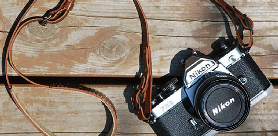 ロベルのオイルレザーカメラストラップクラシックブラウン カメラストラップ ROBERU