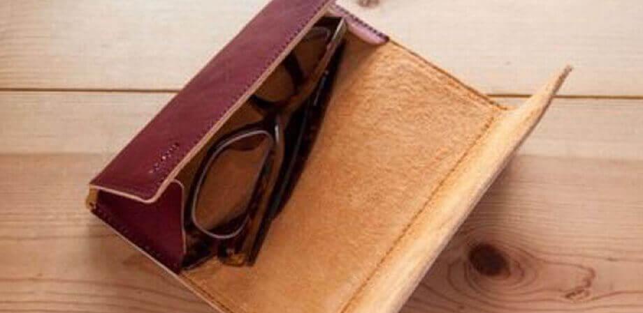 モカ Glasses Case 01 メガネケース