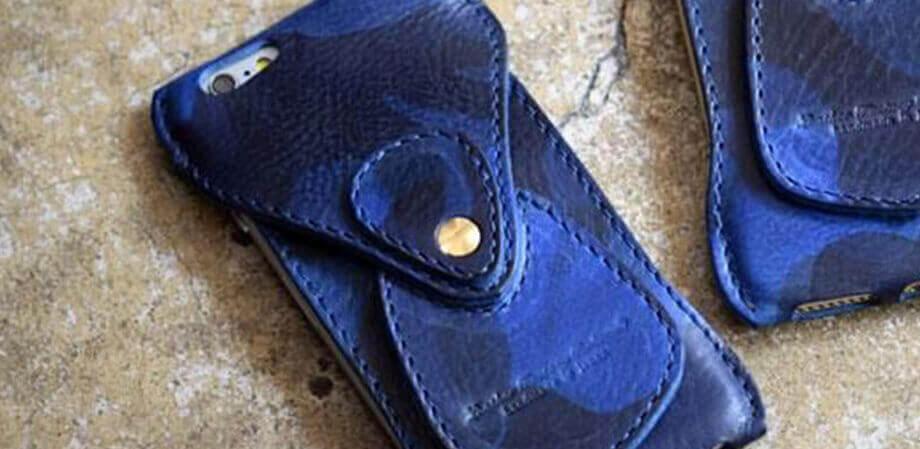 ロベル iPhone Case Italy Navy Camouflage iPhone6s