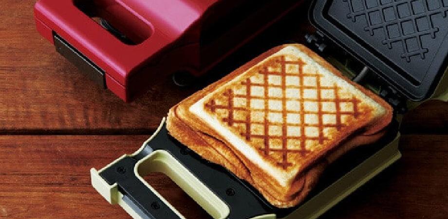 レコルト プレスサンドメーカー キルト トースター recolte