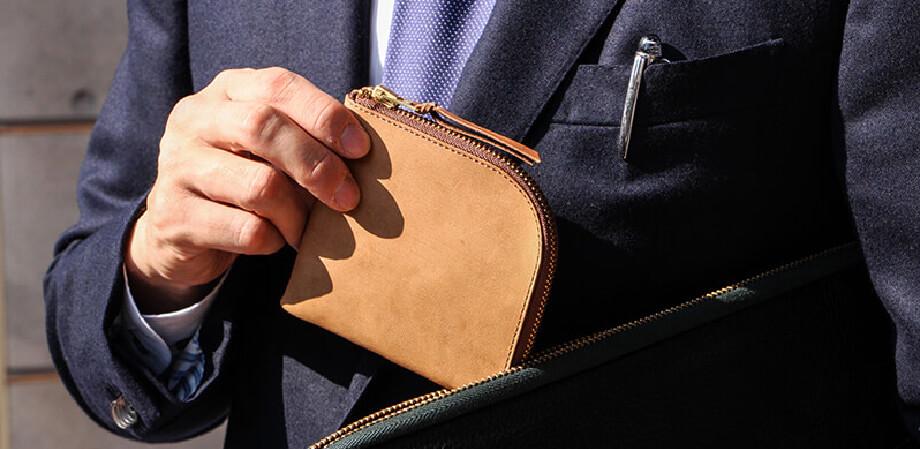 アンカーブリッジ Short Wallet L字ショート財布