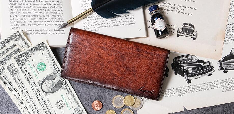 ラガード G-3 ポケット付き長財布