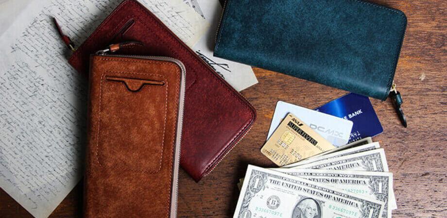 フラソリティ ラウンド札入れ 財布