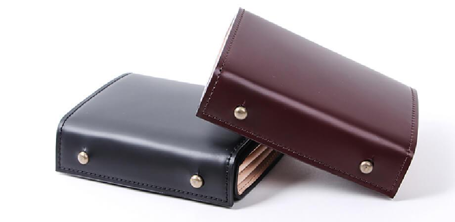 エムピウ ミッレフォッリエ2 コードバン 27 二つ折り財布