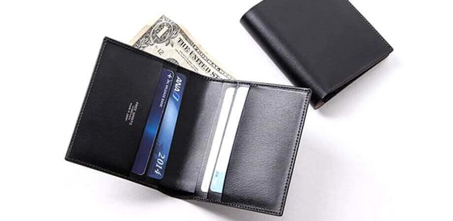 フリースピリッツ 二つ折り財布 超薄型 純札