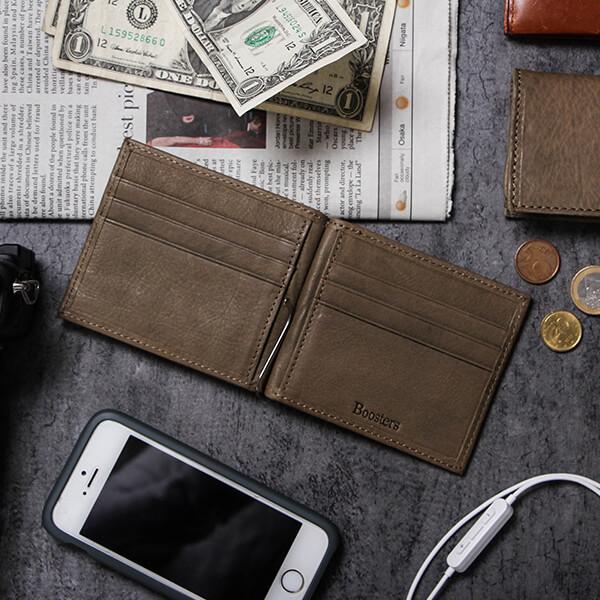 ブースターズ ノートンレザー 二つ折り財布 Boosters