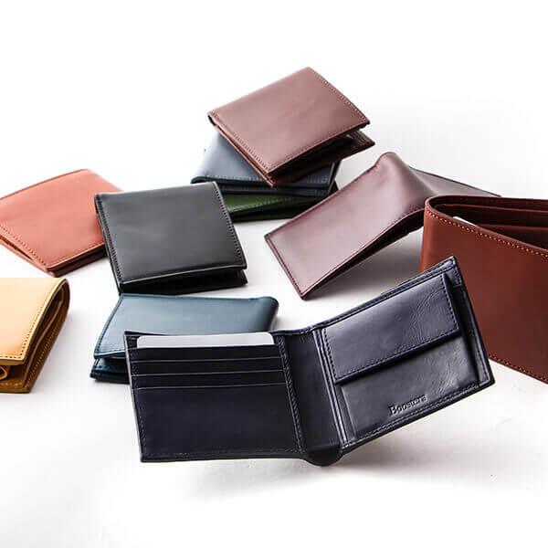 ブースターズ 小銭入れ付き二つ折り財布