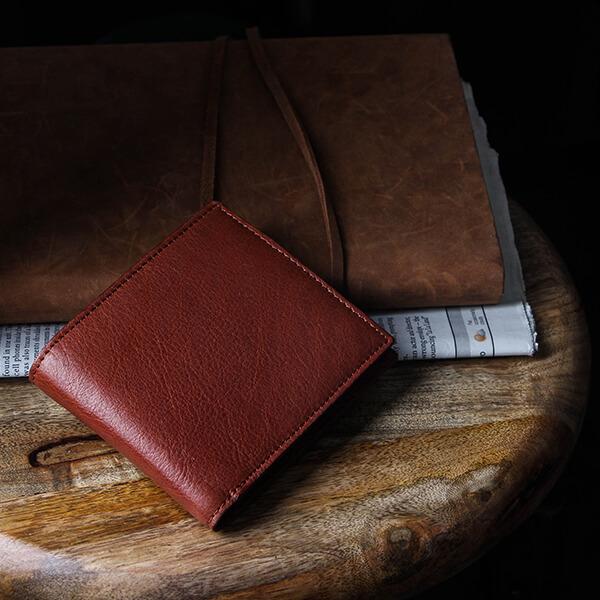 ブースターズ ノートンレザー 小銭入れ付き二つ折り財布 Boosters