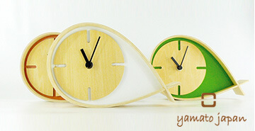 おしゃれ置き時計 ヤマト工芸
