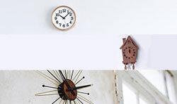 掛け時計 シーン